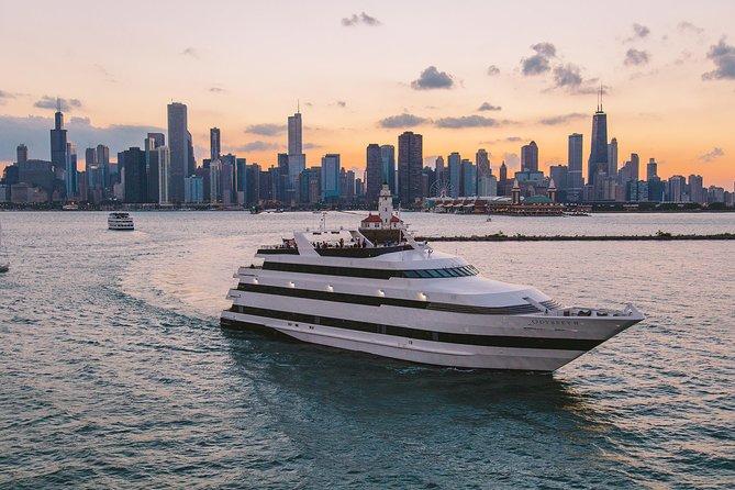 Chicago Premier Fireworks Dinner Cruise on Lake Michigan