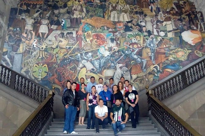Walking Tour - Impressive murals in Historical Center of Mexico City photo 1