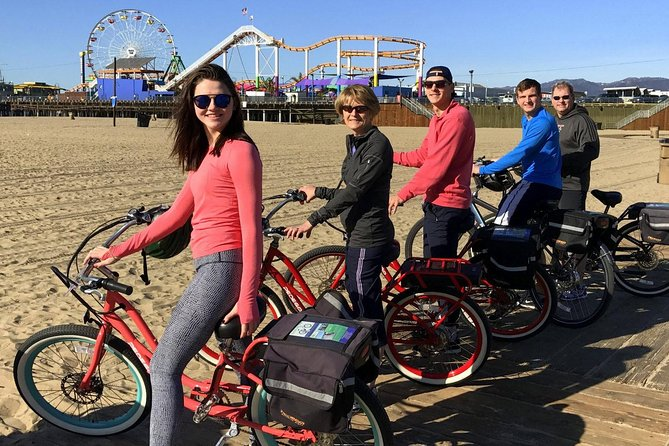 Private Electric Bike Tour of Santa Monica and Venice Beaches