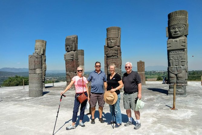 Private Tour: Pyramids of Teotihuacan and Piramides of Atlantes de Tula