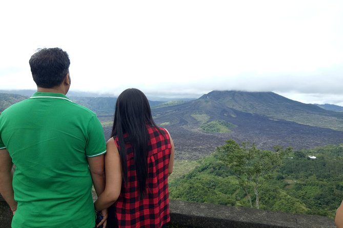 Day trip to Tukad Cepung Waterfall, Penglipuran Village, and Volcano View
