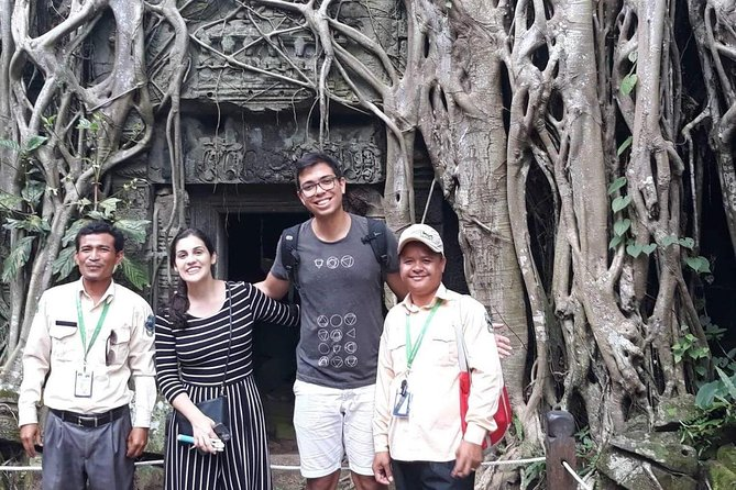 Private Tour: Siem Reap Full Day Tour With Angkor Wat Banteay Srei Bayon Temple and Ta Prohm photo 7