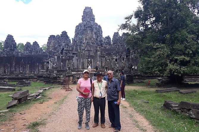Private Tour: Siem Reap Full Day Tour With Angkor Wat Banteay Srei Bayon Temple and Ta Prohm photo 6