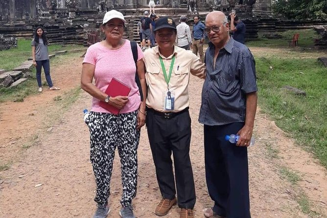 Private Tour: Siem Reap Full Day Tour With Angkor Wat Banteay Srei Bayon Temple and Ta Prohm photo 44