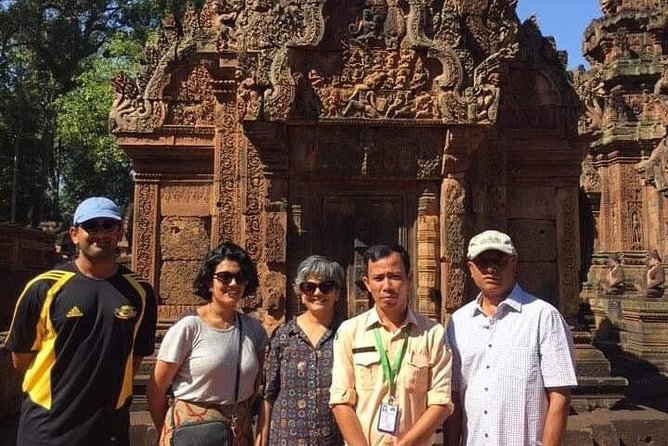 Private Tour: Siem Reap Full Day Tour With Angkor Wat Banteay Srei Bayon Temple and Ta Prohm photo 24