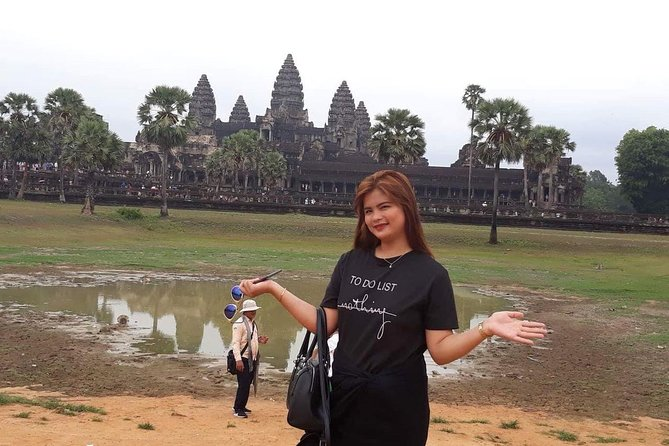 Private Tour: Siem Reap Full Day Tour With Angkor Wat Banteay Srei Bayon Temple and Ta Prohm photo 23