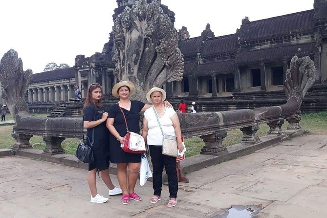 Private Tour: Siem Reap Full Day Tour With Angkor Wat Banteay Srei Bayon Temple and Ta Prohm photo 9