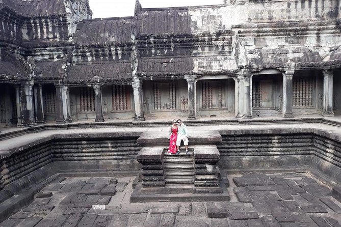 Private Tour: Siem Reap Full Day Tour With Angkor Wat Banteay Srei Bayon Temple and Ta Prohm photo 18
