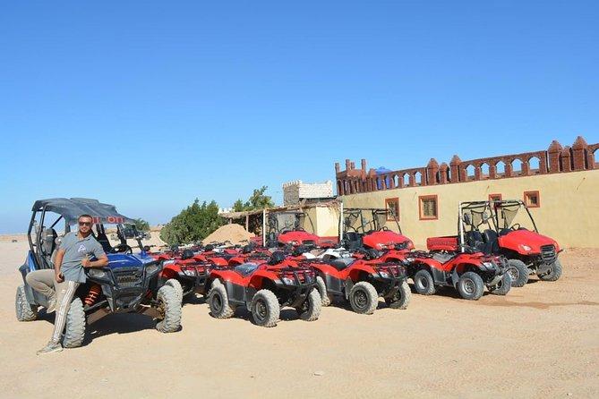 Quad safari 3 hours through the desert of Hurghada from Soma Bay