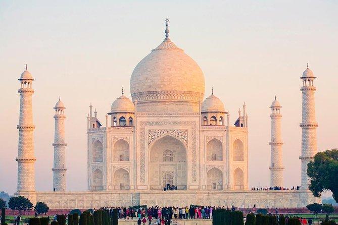 Delhi to Agra Taj Mahal at Sunrise Day-Trip with Breakfast at Oberoi Amar Vilas