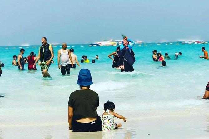 Pattaya Coral Islands Half-day Trip stopover for Parasailing,Fishing&Banana Boat