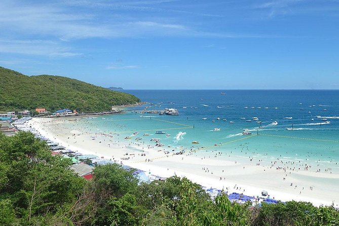 Coral Island Half-day Tour from Pattaya with Lunch & stopover for Parasailing