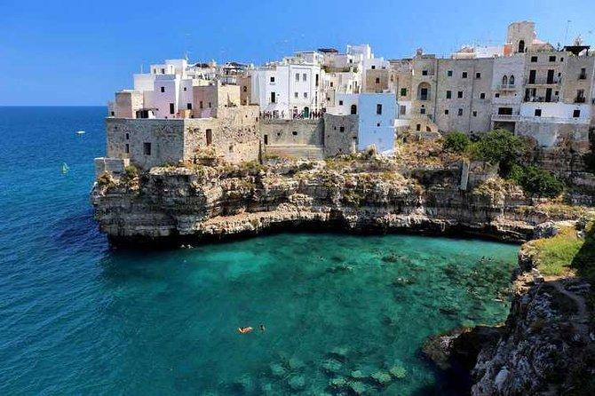 Alberobello and Polignano a Mare tour from Bari with coffee tasting!