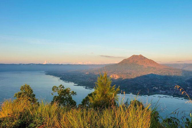 Batur Caldera Sunrise Hiking Over the Lake Batur