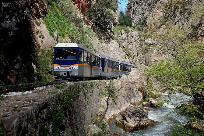 1 Day Private Tour Corinth, Cave of Lakes at Kalavrita & Journey by Cog Railway