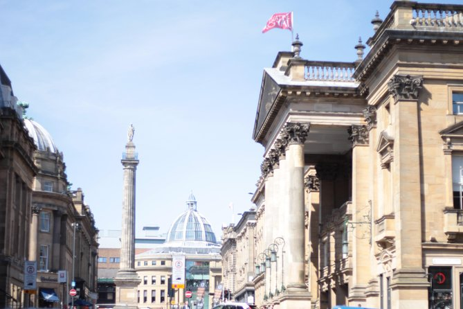 Earl Grey's Monument and the Theater Royal