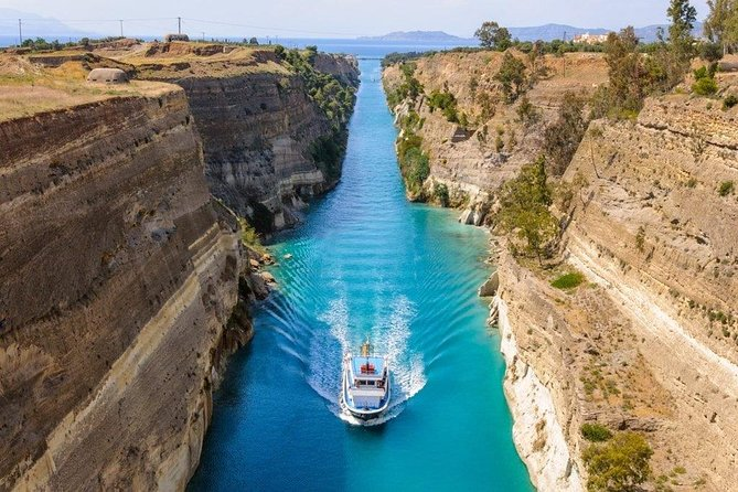 Ancient Corinth & Canal, Mycenae, Nafplio, unique Epidaurus &Olympia in 2 days