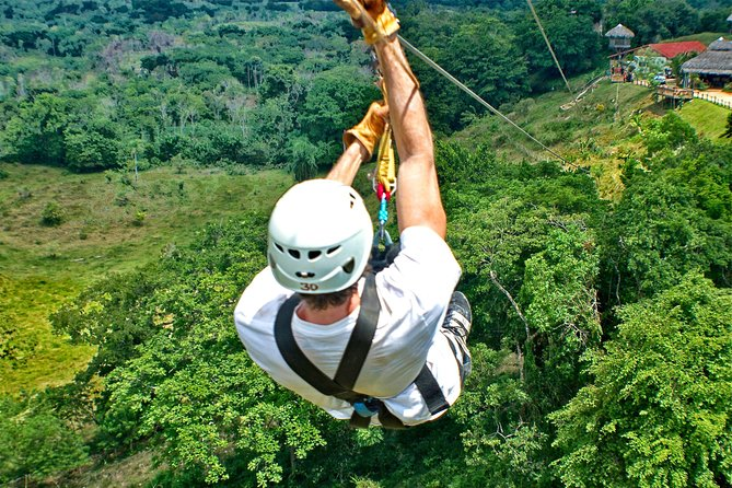 Dominican Zipline Experience: Eco Safari Truck & Great Mountains from Punta Cana photo 2