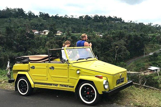 Bali Volkswagen Safari Classic Car Tours - Bali Legendary Cabrio Tour