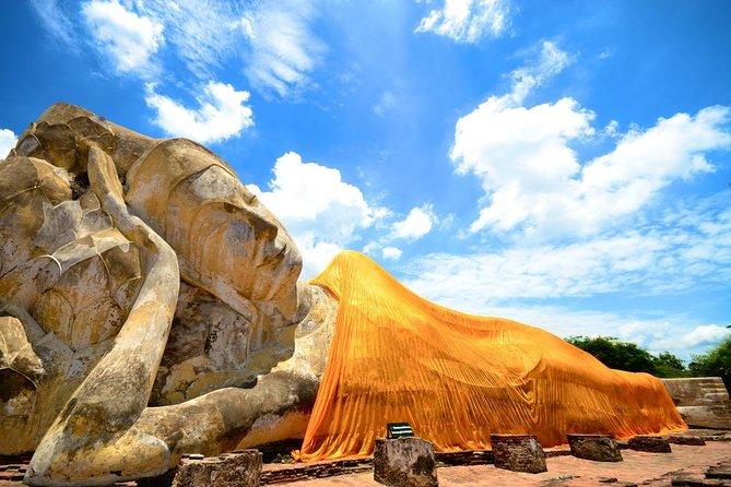 Ayutthaya e Bang Pa-In con minivan e ritorno con la crociera