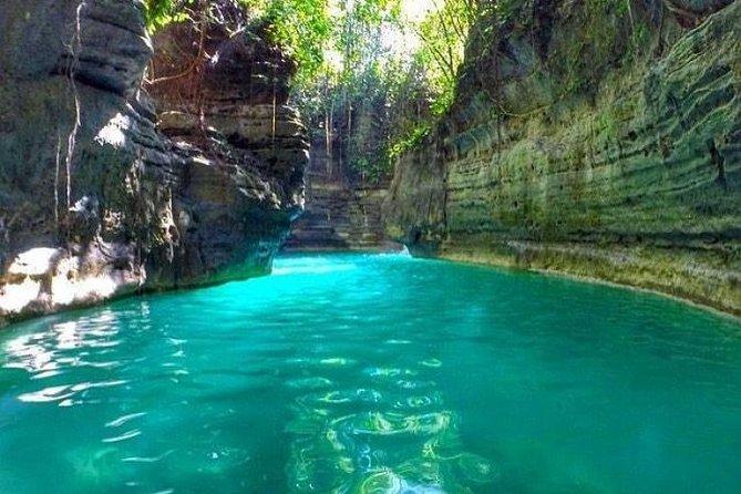 Trip to Martvili Canyon, Prometheus Cave and Kinchkha Waterfall from Kutaisi
