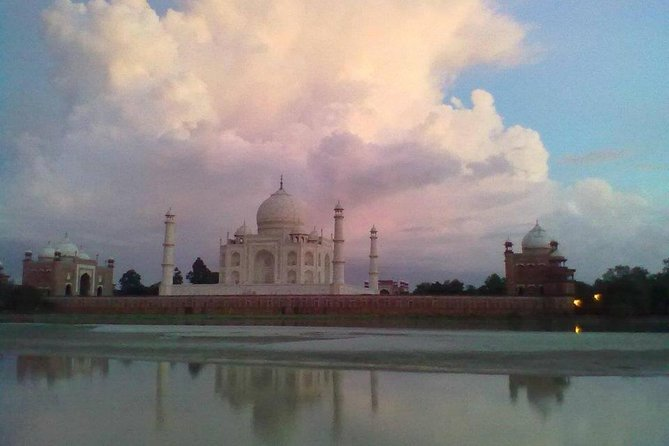 Behind the Taj Mahal with Sunrise or Sunset view by Tuk Tuk Ride photo 10