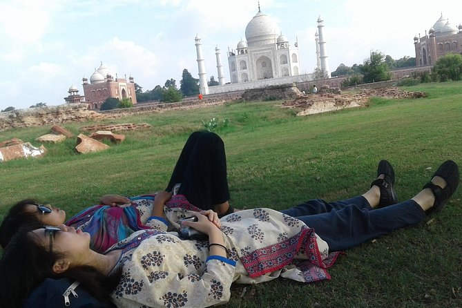 Behind the Taj Mahal with Sunrise or Sunset view by Tuk Tuk Ride photo 6