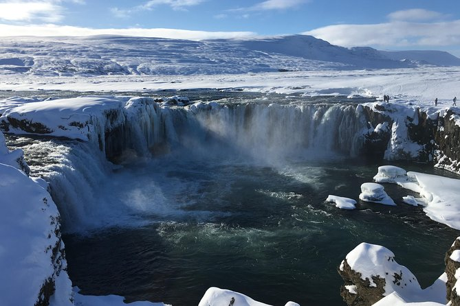 Lake Myvatn Day Tour and Godafoss Waterfall for Cruise Ships from Akureyri Port