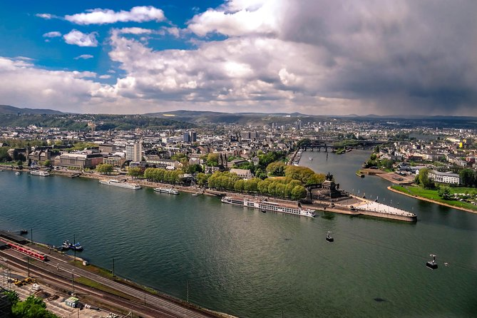 Koblenz - Old Town including the Deutsches Eck