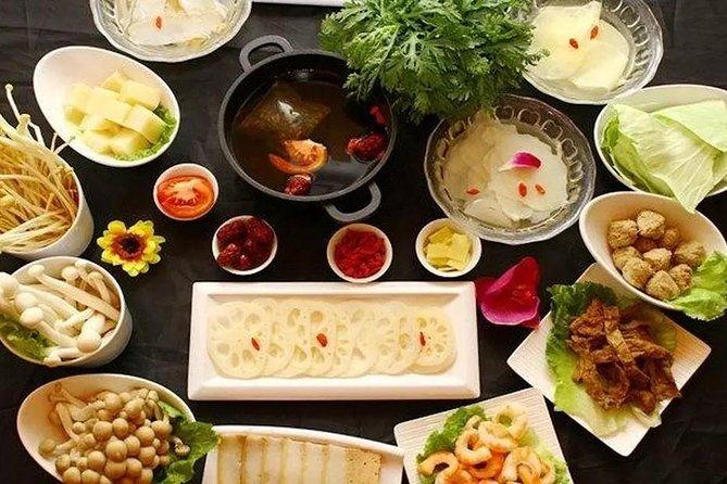Vegetarian Hotpot Dining Culture Experience