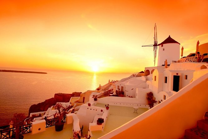 4 Day Greek Island Hopping Crete Santorini Mykonos Delos Palace Of Knossos