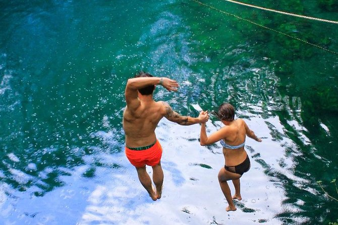 ATV drive experience ziplines and a real Mayan cenote for the best price