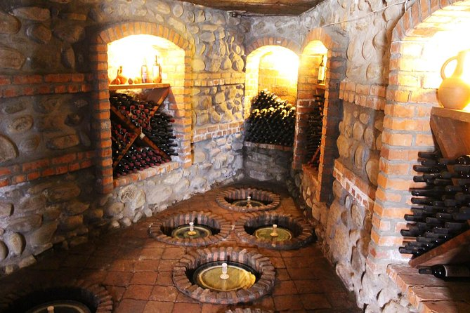 Private day trip to Kakheti wine region with natural wine tasting & lunch.