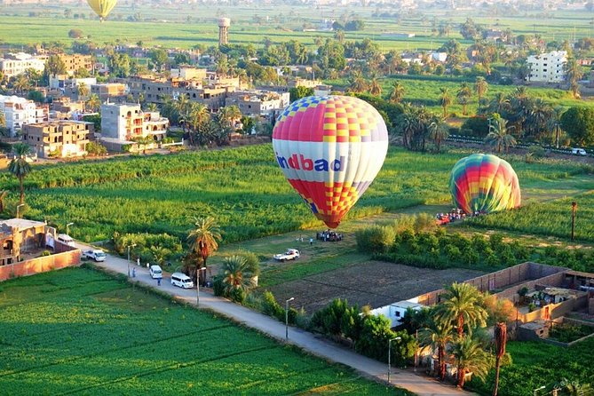 Luxor hot air balloon ride and tour to valley of the kings.Special offer