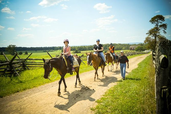 Confederate Trails of Gettysburg 2 Hour Guided Battlefield Horseback Tour