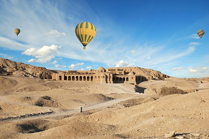 Luxor: Hot Air Balloon Ride Lifetime Experience