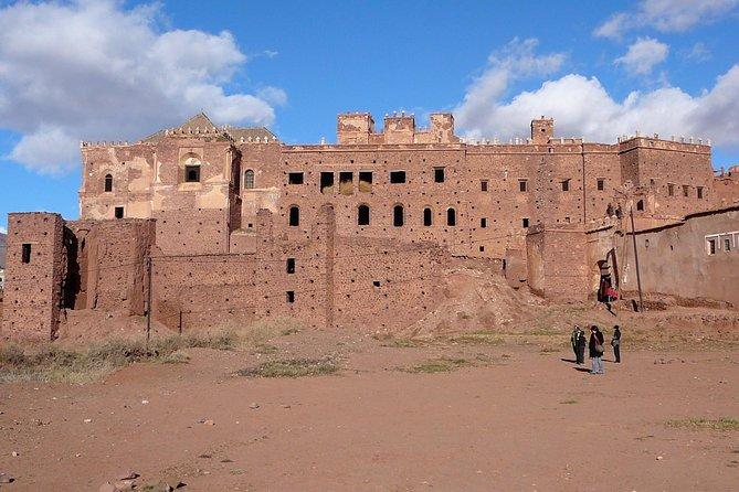 Day trip from Marrakech to Ouarzazate, Atlas mountains and unesco kasbahs