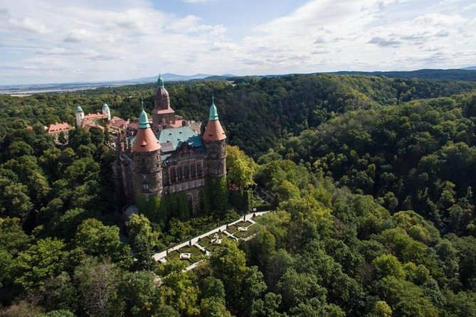 Ksiaz Castle and UNESCO Church of Peace in Swidnica