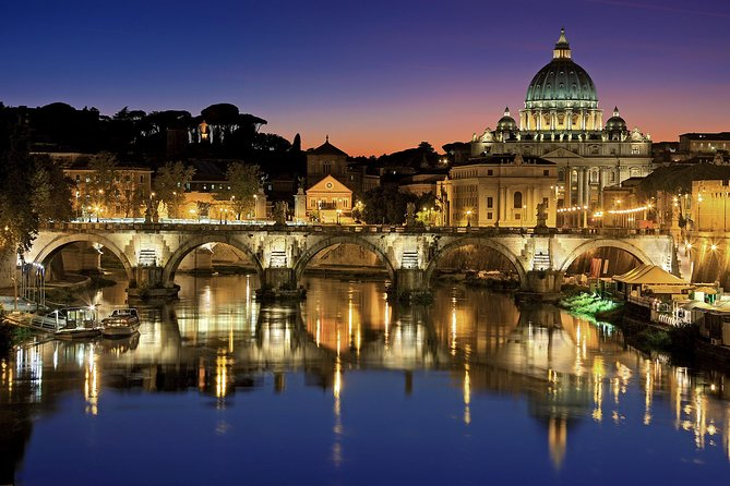 Rome By Night Private Tour from your Hotel in Rome