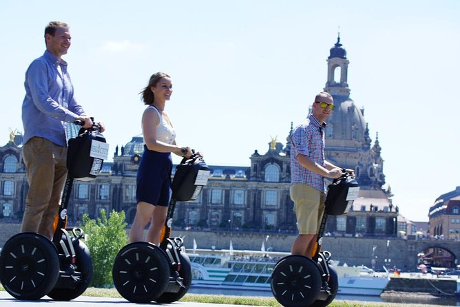 Private Segway tour through the highlights in Dresden