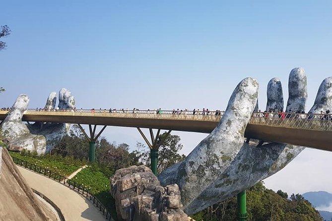 Shore Excursion to GOLDEN BRIDGE & DRAGON BRIDGE from CHAN MAY or TIEN SA port