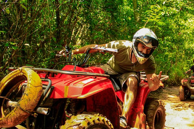 ATV, Ziplines and Cenote Combo Tour at Extreme Adventure Eco Park