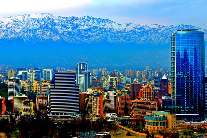 Private Full Day City Tour of Santiago with Wine Experience