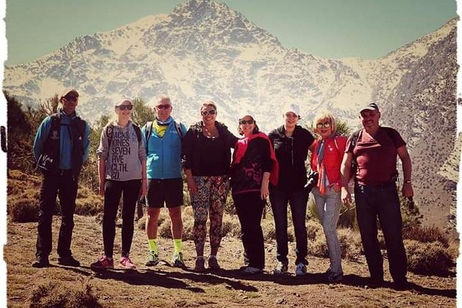 Day Excursion to High Atlas Mountains & waterfalls from Marrakech