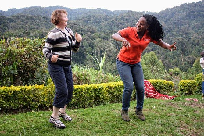 Traditional dancing in Bwindi