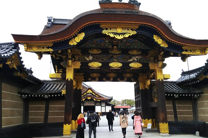 Kyoto Imperial Palace and Nijo Castle Walking Tour photo 1