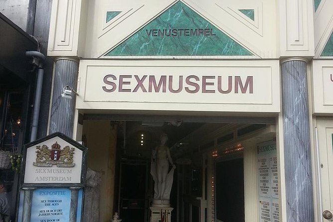 Private Amsterdam Red Light District tour including sex museum