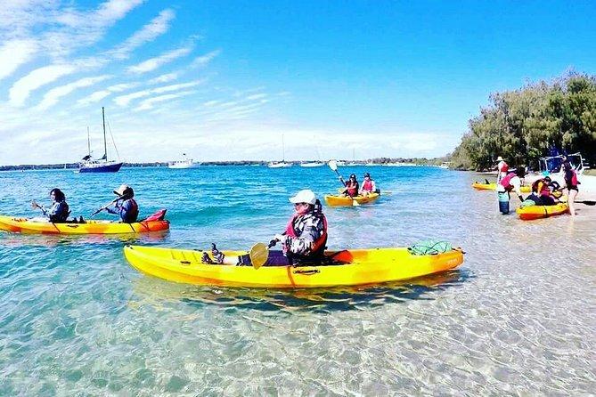 Wave Break Island Kayaking, Bushwalking and Snorkeling Tour with fruits