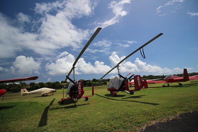 Aerial Excursion Of Petite Terre And The Desirade Gyro Plane