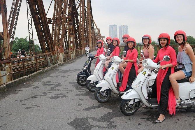 Hanoi Vespa City Tour - See The culture - History - Backstreet - Hidden Gem...